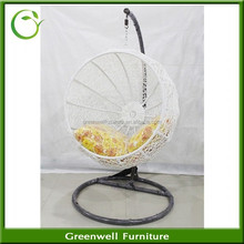 Best Selling Egg Rattan Patio Hanging Swing Chair Outdoor Furniture