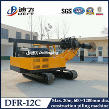 20m crawler mounted small auger drill for sale