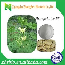100% Pure Natural GMP Certificate Astragalus root extract 98% HPLC