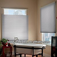 2015 new design easy assemble pleated blinds /window coverings