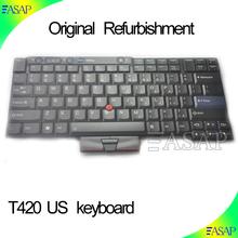 Computer repairing replacement keyboard For IBM for Lenovo for Thinkpad T400S T410 T410I T410S T410SI T420 T420s US Keyboard