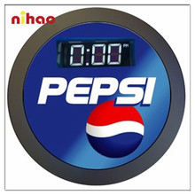 Promotional Led Wall Clock Round Buy Led Wall Clock Round