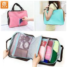 Portable Travel Luggage Insert Organizer Multifunction Pocket Storage Bag in Bag