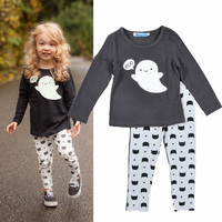 bobo choses girls clothing sets spring winter long sleeve t shirt + pants BOO Cartoon cotton toddler baby girl clothes for boys