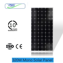 Made by A grade solar cell 320W pv solar panel manufacturer in China