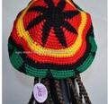 dredlock rasta reggae peruca tampa crochet jamaicano bob marley beret