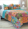 New 100% Cotton European style Quilt Set Summer Patchwork Bedspread,bed sheet set from china