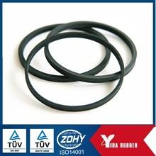 Factory customized parts, industry used oil and water proof flat o ring rubber parts, silicone FKM rubber gasket