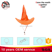 2015 the most popular promotional magical foldable polyester nylon peaked cap / hat