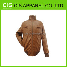 2015 wholesale winter good quality leather jackets for men