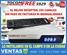 satellite receiver hd Twin Tuner (Nagravision 3.0) for South America