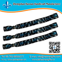 China party festival supplier custom wristband/bracelet design own logo with the only way to remove them is through scissors