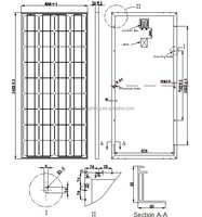 18V145W 150W 155W 160W off on grid solar electricity panel with credit guarantee system