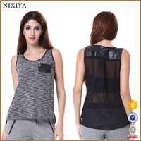 Sexy Transparent Tank Tops for Women Western Blouse 2015