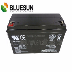 SGS PVOC CER 12V 120AH used on solar system agm/gel 24v marine battery