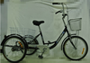 GM-T002 pedal three wheels cargo bike tricycle bicycle