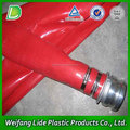 Layflat PVC tubería de riego por goteo tubería