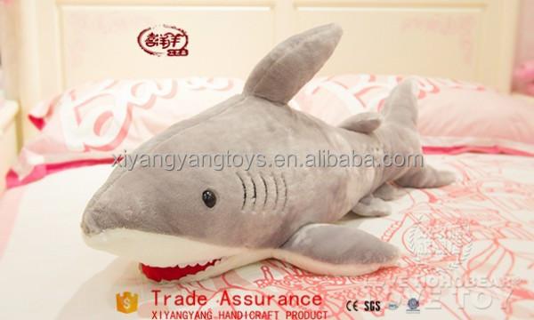 Giant Plush Toy Shark With Sharp Teeth