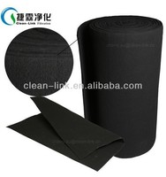 Spray booth carbon filter, activated carbon felt fabric, dust filter