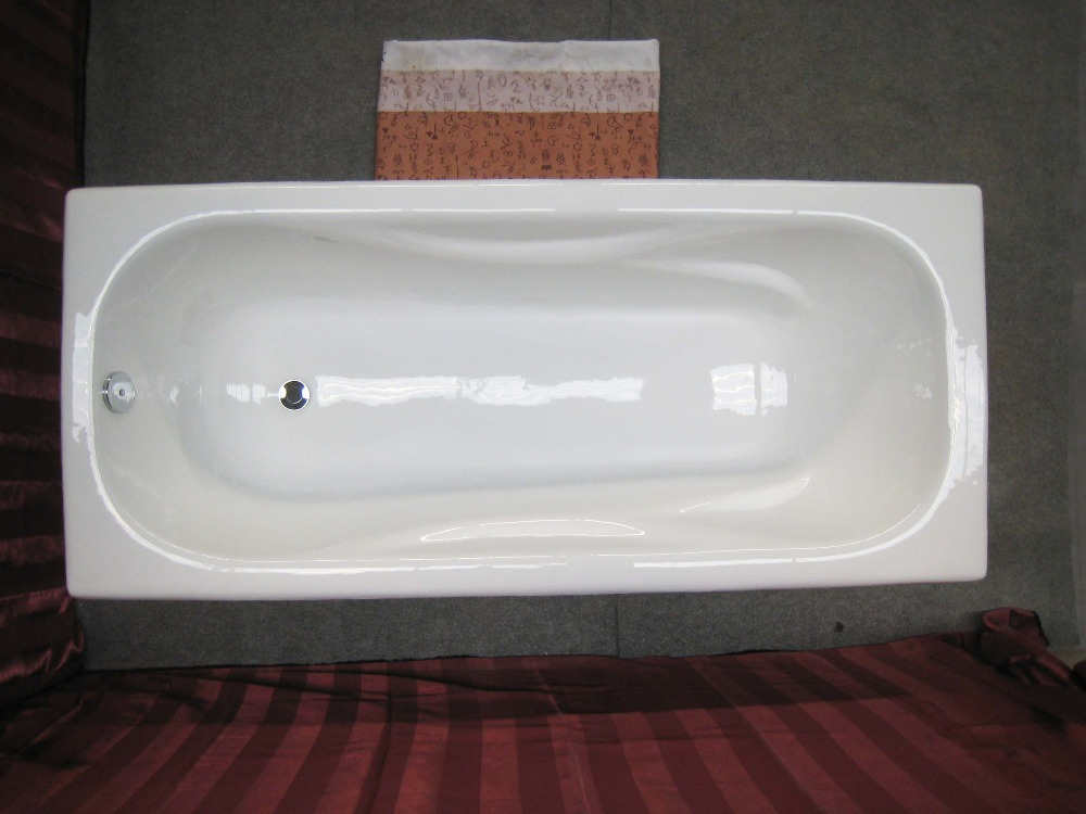 Cheap soaking tubs shower pool cast iron bathtubs for Built in clawfoot tub