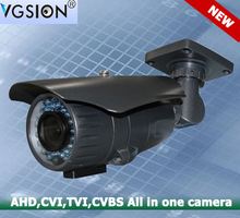 VGSION waterproof IP66 All in One AHD CVI TVI CVBS Hybrid Camera four in One camera