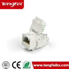 Cat5e RJ45 interface network module with best selling in china