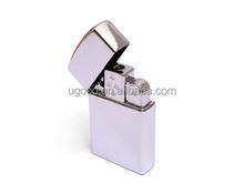 Fine lighter customized logo 4gb usb flash memory, metal lighter usb memory