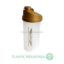 Plastic Shaker bottle for Mixing nutrition powder