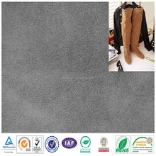 2015 fashion Woven Cheap Wholesale Suede Fabric/micro fiber suede shoes fabric