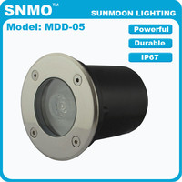 3w 12v outdoor in ground uplighting led path light