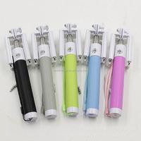 one-piece folding wire clip 3-legs monopod