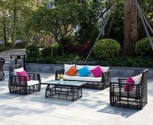 2015 Manufacturers rattan garden furniture/rattan outdoor furniture/outdoor rattan furniture with cushions