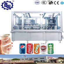 Manufacturer Engineer Available Automatic Beverage Can Filler and Seamer with CE.ISO