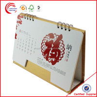 Fancy high quality english arabic calendar 2015 wholesale in shanghai