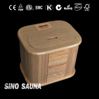 2016 New Design 1 person home foot sauna with carben heater