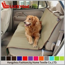 Waterproof Pet Car Seat Cover / Double-seat Dog Mat for Travel