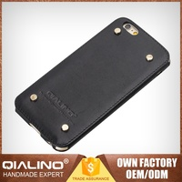 Promotional Hot Super Quality Competitive Price Genuine Leather Mobile Phone Case For Iphone 6 Pus