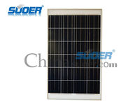suoer polycrystalline solar cell panel 100w 12v poly solar cell module