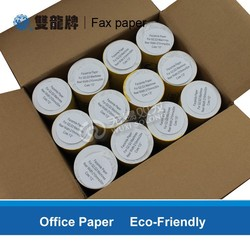 best quality cheap custom adveritising Thermal fax paper roll