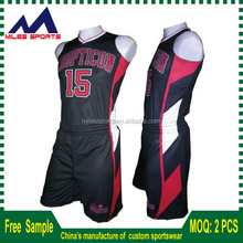 micromesh mens basketball jersey in 160gsm polyester material new style