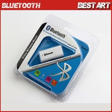New 3.5mm Stereo USB Bluetooth V2.0 Wireless Audio Music Receiver Adapter for iPhone iPad Cellphone support A2DP V1.2 Speaker