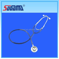 Medical stethoscope with plastic ear tip