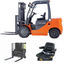 china made mini diesel forklift model CPCD30 with 3m lifting height