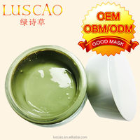 2014 hot sale beautiful names for the firm for black skin for Green Clay Mask