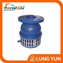 stainless steel water pump price foot valve with strainer