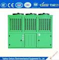 10hp refrigerado a ar pequeno da unidade de condensação com u tipo condensador e bitzer compressor de refrigeração
