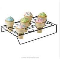 Cone Cupcake Baking Holder Cupcakes Cake Carrier Ice Cream Stand