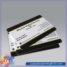 Full Color Printing Cheap Plastic Business Card pvc (Custom Design)