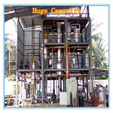 Change Black Car Engine Oil To Base Oil Recycling Machine