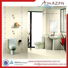 diseño moderno barato al por mayor antideslizante piso de cerámica baño azulejo